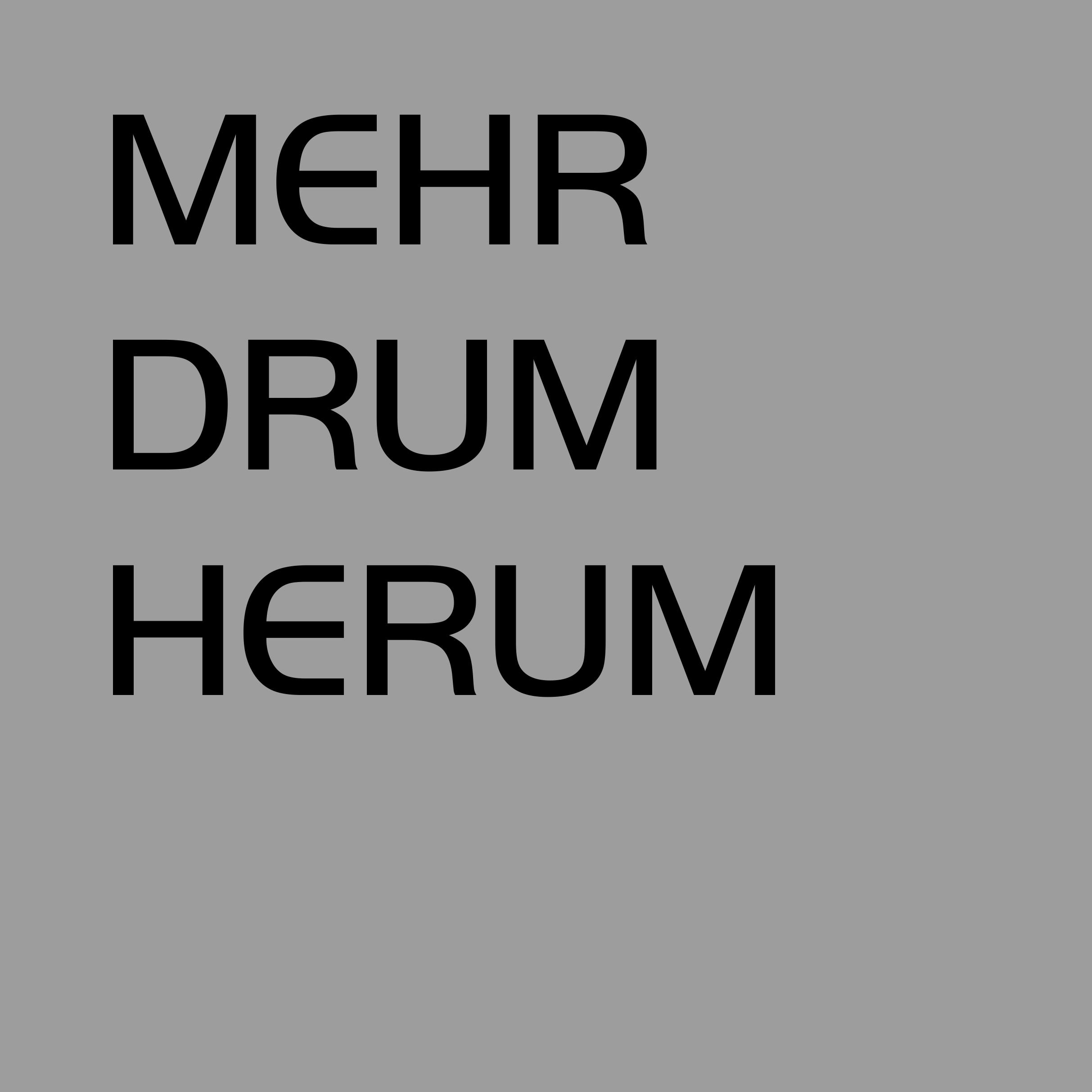 Startseite_MEHR DRUMHERUM