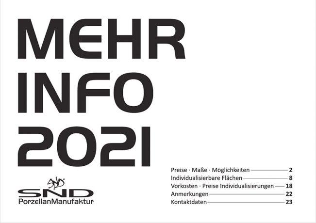SND Porzellan Preisliste